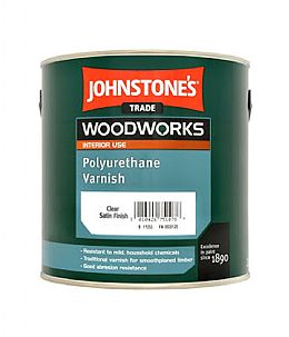 Johnstons Clear Satin Varnish